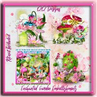 Enchanted Garden Embellishments