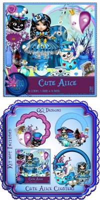QTSQ Cute Alice and Clusters by QQ