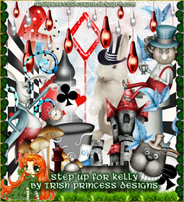 Irish Princesss Designs - Step Up FOr Kelly Kit