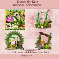 Tropical Rainforest Cluster Pack