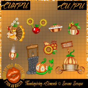 CU Thanksgiving Elements