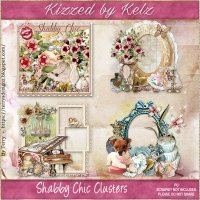Shabby Chic Cluster Pack