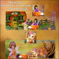 Autumn Fairy Timeline Sets