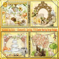 Romantic Spring Cluster Pack