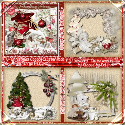 Christmas Cocoa Cluster Pack