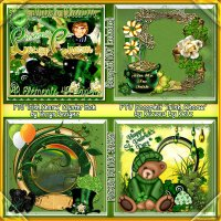 Irish Charm Cluster Pack