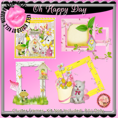 Oh Happy Day Cluster Frames