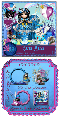 QTSQ Cute Alice and Clusters