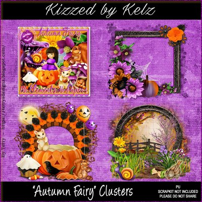 Autumn Fairy Cluster Pack