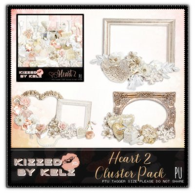 Heart 2 Clusters Pack