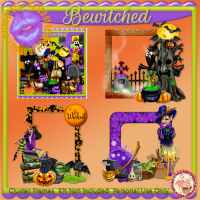 Bewitched Cluster Frames