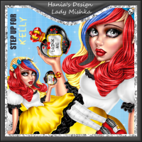 Hania Designs ~ Lady Mishka Tube