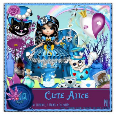 QTSQ Cute Alice Kit