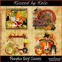 Pumpkin Fairy Cluster Pack