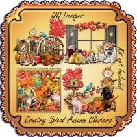 Country Spiced Fall Clusters