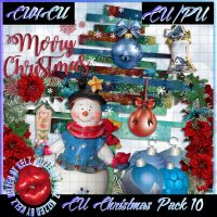CU Christmas Pack 10